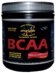 ESPG Labs' branched chain amino acid product calls out specific levels for all four BCAAs.