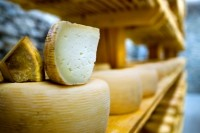 Cheese traditional contains significant levels of salt.