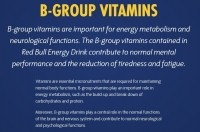 Red Bull's website is making much of EU-approved vitamin B health claims...